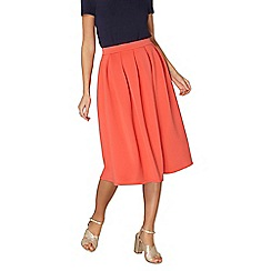 Dorothy Perkins - Coral scuba full skirt