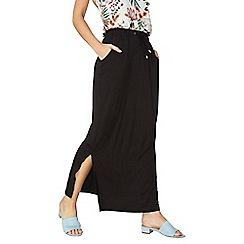Dorothy Perkins - Black tie waist maxi skirt