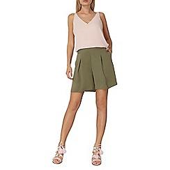 Dorothy Perkins - Khaki shorts