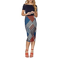 Dorothy Perkins - Geo tube skirt