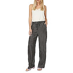 Dorothy Perkins - Spot palazzo tie trousers