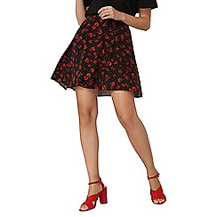 Dorothy Perkins - Red poppy skater skirt