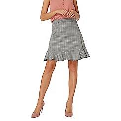 Dorothy Perkins - Check peplum mini skirt