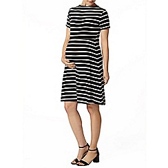 Dorothy Perkins - Maternity stripe swing dress