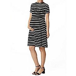 Dorothy Perkins - Maternity stripe swing dress