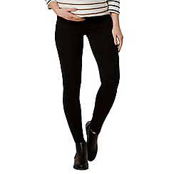 Dorothy Perkins - Maternity black ponte treggings