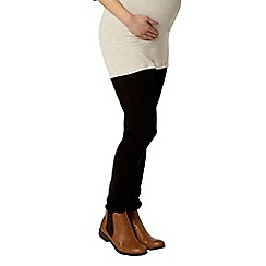 Dorothy Perkins - Maternity black over bump super skinny jeans