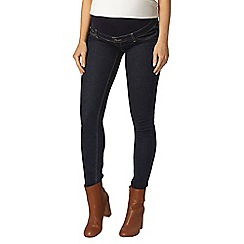 Dorothy Perkins - Maternity indigo authentic overbump skinny jeans