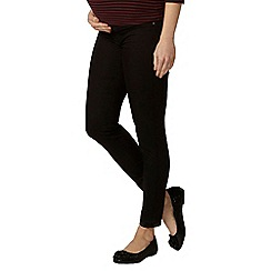 Dorothy Perkins - Maternity black under bump jeggings