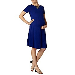 Dorothy Perkins - Maternity cobalt swing dress