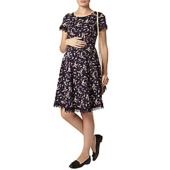 Dorothy Perkins - Maternity floral lace trim dress