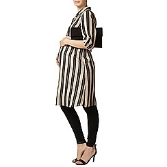 Dorothy Perkins - Maternity neutral stripe shirt