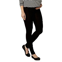 Dorothy Perkins - Maternity black under bump leggings