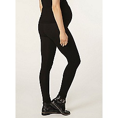 Dorothy Perkins - Maternity long black overbump leggings