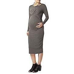 Dorothy Perkins - Maternity grey front twist bod