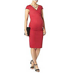 Dorothy Perkins - Maternity raspberry cap sleeve
