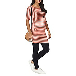 Dorothy Perkins - Maternity red stripe tunic