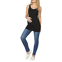 Dorothy Perkins - Maternity mid wash overbump superskinny jeans