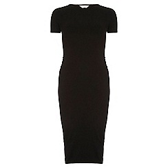 Dorothy Perkins - Maternity black bodycon dress