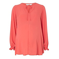 Dorothy Perkins - Maternity coral blouse