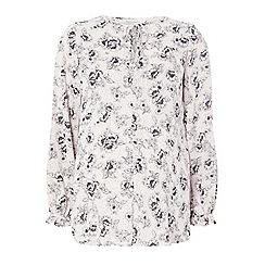Dorothy Perkins - Maternity blush floral blouse
