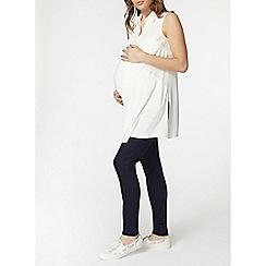 Dorothy Perkins - Maternity ivory sleeveless jersey blouse