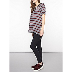 Dorothy Perkins - Maternity grey stripe t-shirt