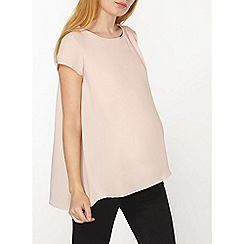 Dorothy Perkins - Maternity nursing blush wrap top