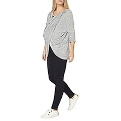 Dorothy Perkins - Maternity nursing grey slouch top