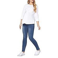 Dorothy Perkins - Maternity mid wash forever fit jeans