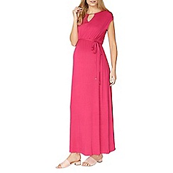 Dorothy Perkins - Maternity pink floral jersey maxi dress