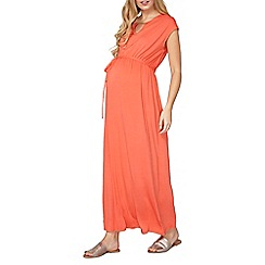 Dorothy Perkins - Maternity jersey bar maxi dress
