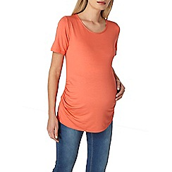 Dorothy Perkins - Maternity coral scoop neck top