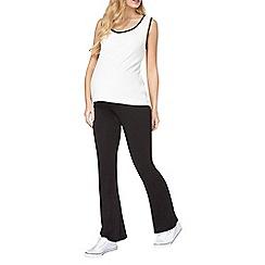 Dorothy Perkins - Maternity black yoga trousers