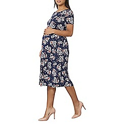 Dorothy Perkins - Maternity navy floral dress