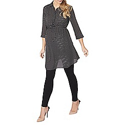Dorothy Perkins - Maternity monochrome spot tunic top