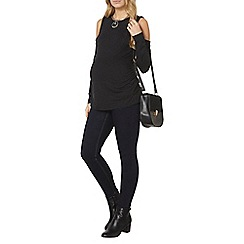 Dorothy Perkins - Charcoal maternity soft touch top