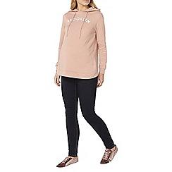 Dorothy Perkins - Pink maternity rise 'brklyn' hoodie