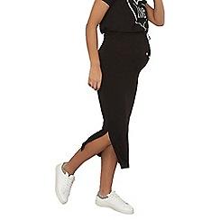 Dorothy Perkins - Maternity black toggle waist maxi skirt