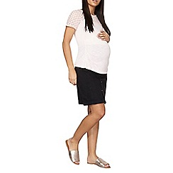 Dorothy Perkins - Maternity forever fit denim skirt