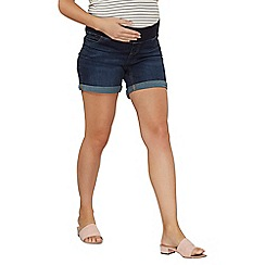 Dorothy Perkins - Maternity under bump boyfriend shorts