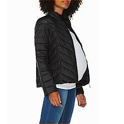 Dorothy Perkins - **maternity black puffer jacket