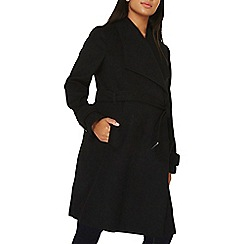 Dorothy Perkins - **maternity belted wrap coat