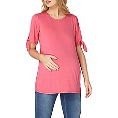 Dorothy Perkins - Maternity pink jersey top