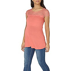 Dorothy Perkins - Maternity rose jersey swing top