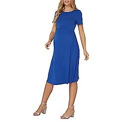 Dorothy Perkins - **Maternity cobalt dip back dress