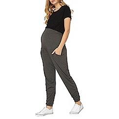 Dorothy Perkins - **maternity grey overbump joggers