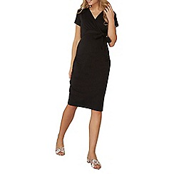 Dorothy Perkins - **maternity ruched wrap dress