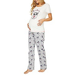 Dorothy Perkins - Maternity multi coloured owl print pyjama set