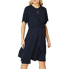 Dorothy Perkins - **maternity navy knot front skater dress